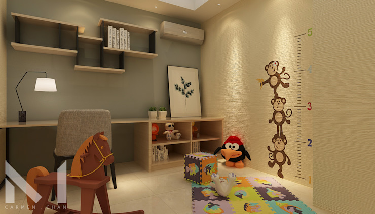 kids play room Muse Studio Nursery/kid's room
