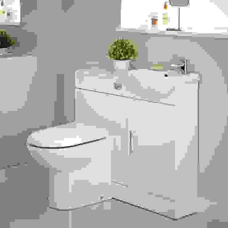 Milano Vanity Unit and Toilet Set Phòng tắm phong cách hiện đại bởi homify Hiện đại