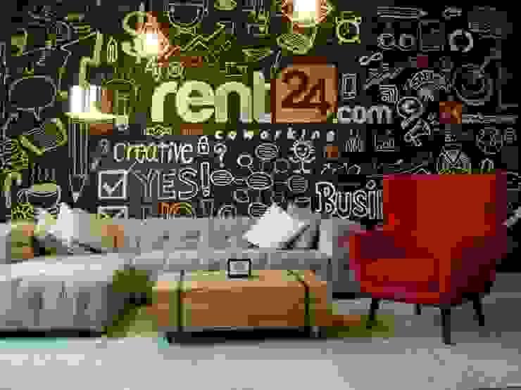 Pareti & Pavimenti eclettiche di Ivy's Design - Interior Designer aus Berlin Eclettico Cemento