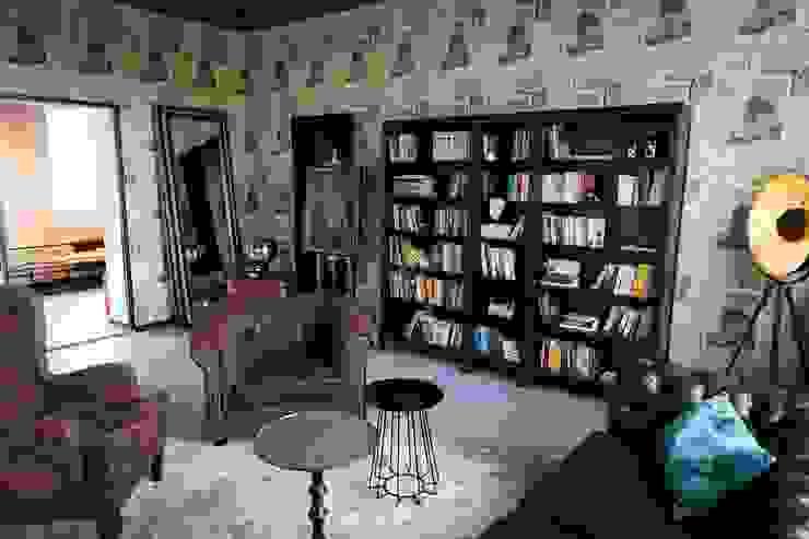 Ivy's Design - Interior Designer aus Berlin Living roomCupboards & sideboards Leather Brown