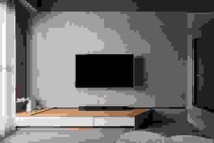 客廳電視牆 根據 Moooi Design 驀翊設計 北歐風
