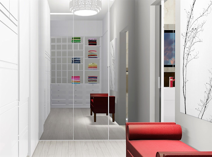 Eclectic style dressing rooms by homify Eclectic