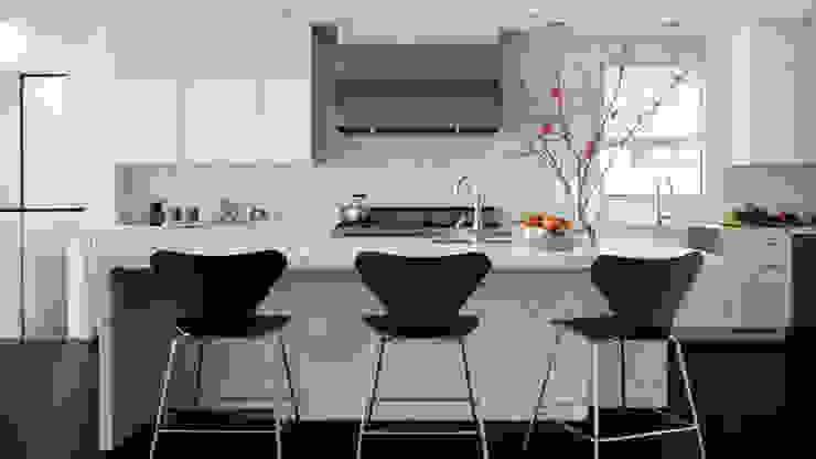 Bí quyết kết hợp màu sắc cho nhà bếp hiện đại 2018: scandinavian  by Thương hiệu Nội Thất Hoàn Mỹ, Bắc Âu Da Grey