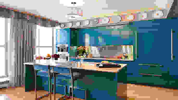 Bí quyết kết hợp màu sắc cho nhà bếp hiện đại 2018: scandinavian  by Thương hiệu Nội Thất Hoàn Mỹ, Bắc Âu Thạch anh