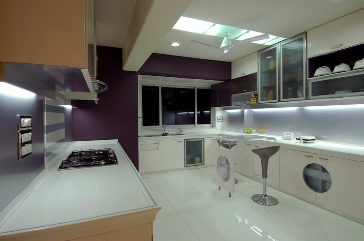 Residential Interior Project for Mr. Chudasama by Jeearch Associate Modern Glass