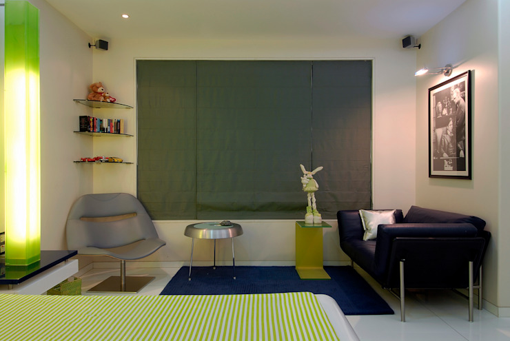 Residential Interior Project for Mr. Chudasama Modern study/office by Jeearch Associate Modern