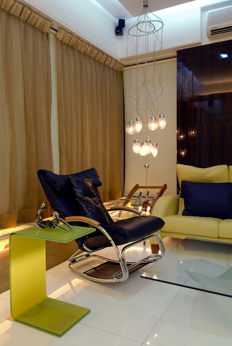 Residential Interior Project for Mr. Chudasama Modern media room by Jeearch Associate Modern