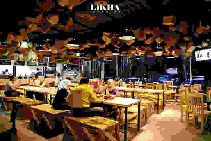 Pasar Cisangkuy (Indoor Area) Gastronomi Gaya Rustic Oleh Likha Interior Rustic Kayu Lapis