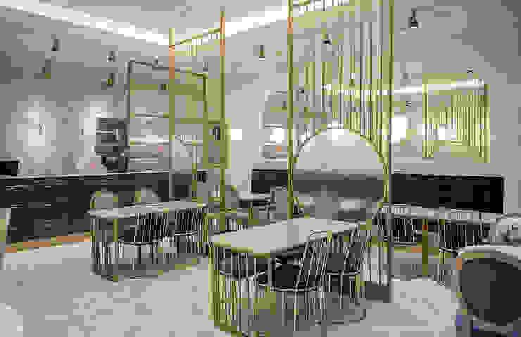 파티션, 가구 클래식 스타일 바 & 클럽 by 디자인에이드 클래식