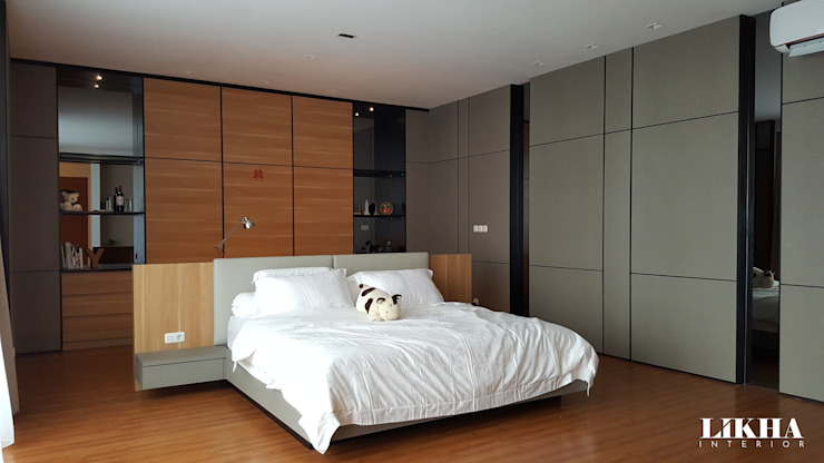 Minimalist bedroom by Likha Interior Minimalist Plywood
