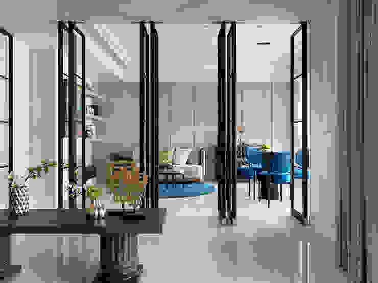 桃園中悅麗舍花園 法式優雅實品屋 根據 ACE 空間制作所 古典風