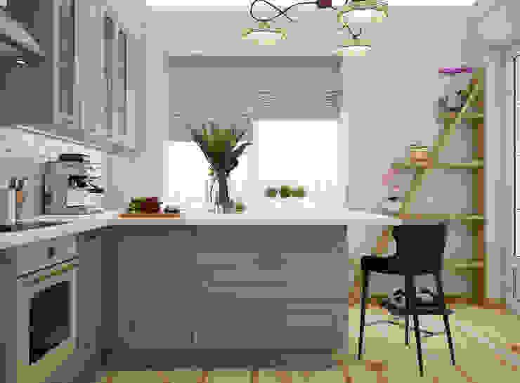 Искусство Интерьера 置入式廚房 MDF Grey