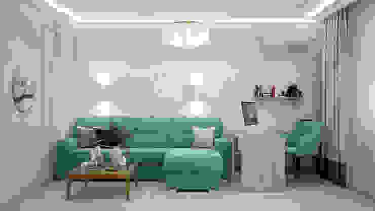 Искусство Интерьера 客廳 刨花板 Turquoise