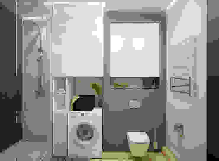 Искусство Интерьера 浴室 磁磚 Brown