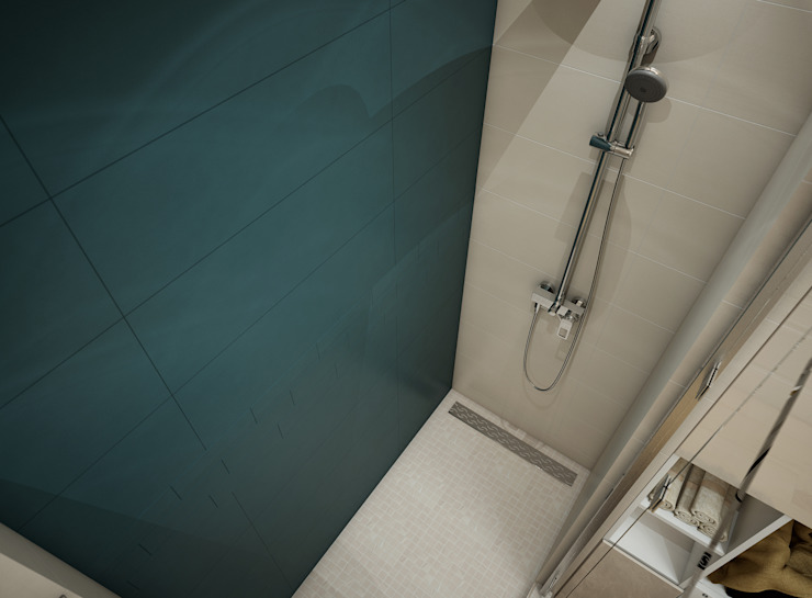 Искусство Интерьера 浴室 磁磚 Blue