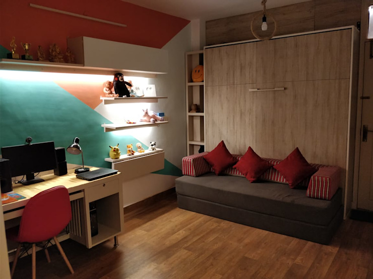 Interiors Modern nursery/kids room by The Couple Room Project Modern
