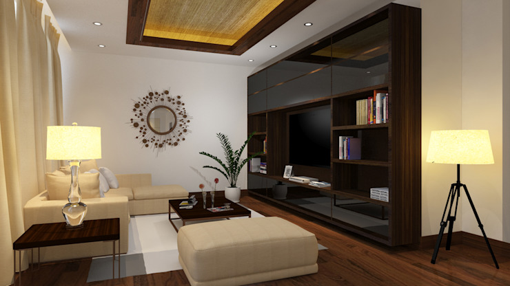 Interiors Modern living room by The Couple Room Project Modern