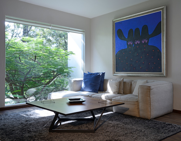 Área de lectura. Estudios y despachos minimalistas de Stuen Arquitectos Minimalista