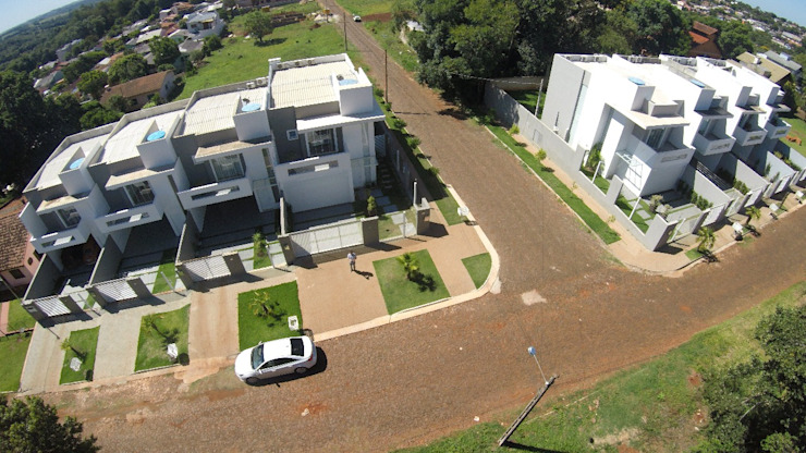 Condomínio Residencial Solaris Residence - Vista aérea Cláudia Legonde Casas geminadas