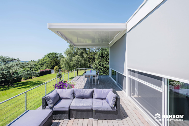 Algarve Modern terrace by Atria Designs Inc. Modern