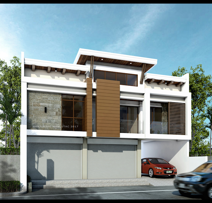 Two Storey 3 Bedroom- Mixed Use Residential by ezpaze design+build Modern