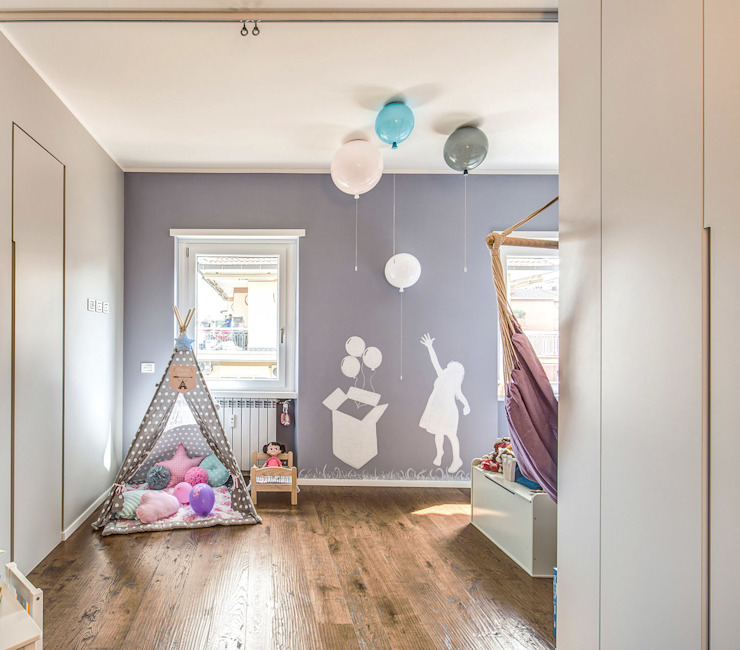 MOB ARCHITECTS Modern Kid's Room