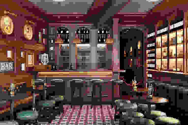 O'Neills Irish Pub - Cascais por DZINE & CO, Arquitectura e Design de Interiores Clássico