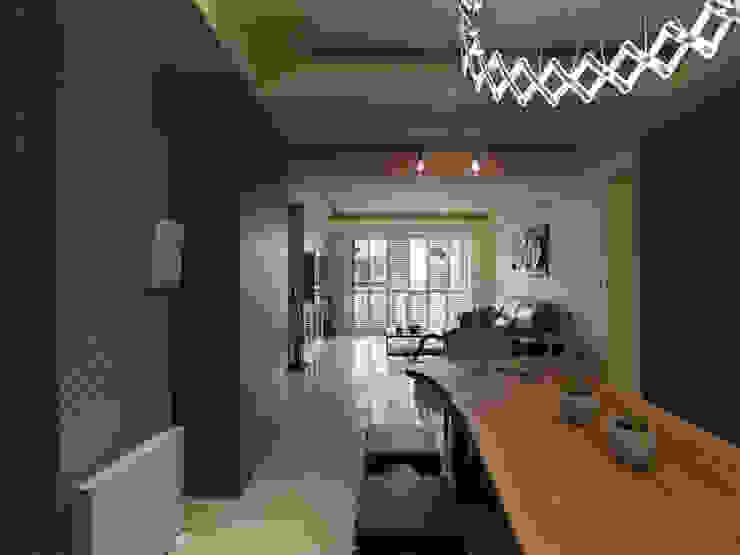 Moderne Esszimmer von 李正宇創意美學室內裝修設計有限公司 Modern