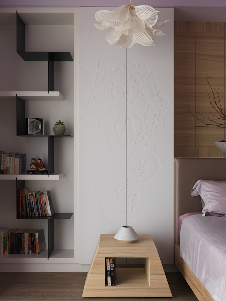 Moderne Schlafzimmer von 李正宇創意美學室內裝修設計有限公司 Modern