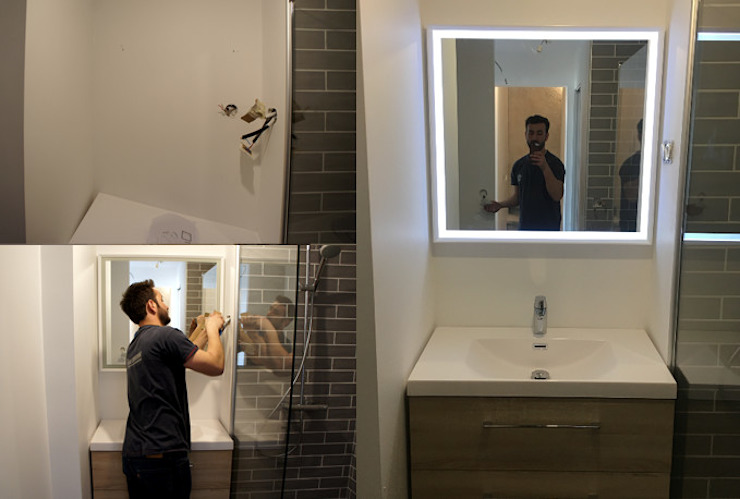 Rénovation d\'une petite salle de bain de 3m2 par JINDOLI par ...