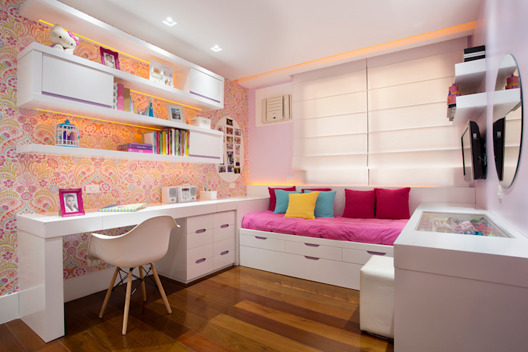 Girls Bedroom by homify, Modern