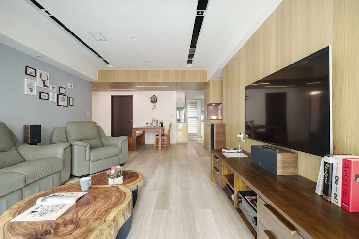 完工照 根據 寬軒室內設計工作室 北歐風