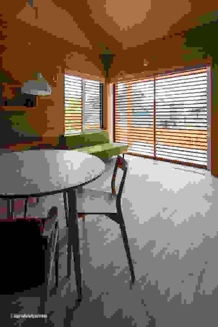 アグラ設計室一級建築士事務所 agra design room Salas de estilo moderno
