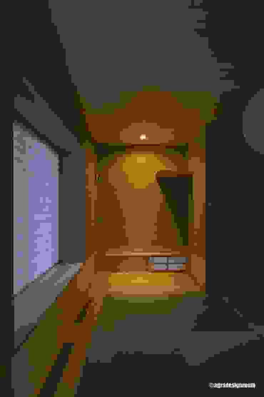 アグラ設計室一級建築士事務所 agra design room Salas de entretenimiento de estilo moderno