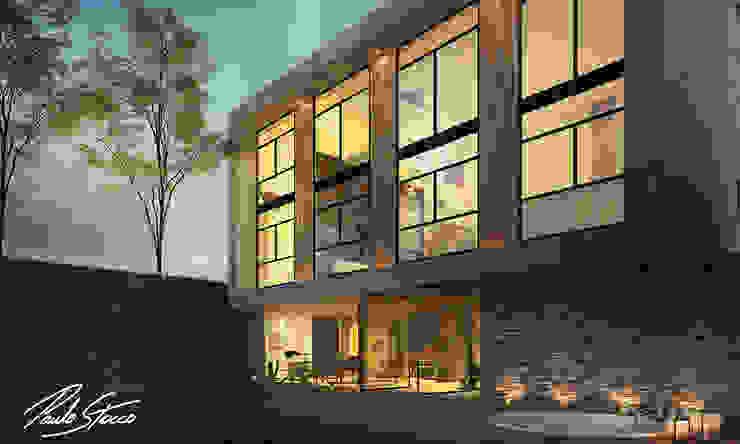 Paulo Stocco Arquiteto Rumah Modern