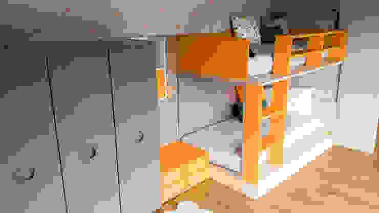 Spaziojunior Teen bedroom Orange