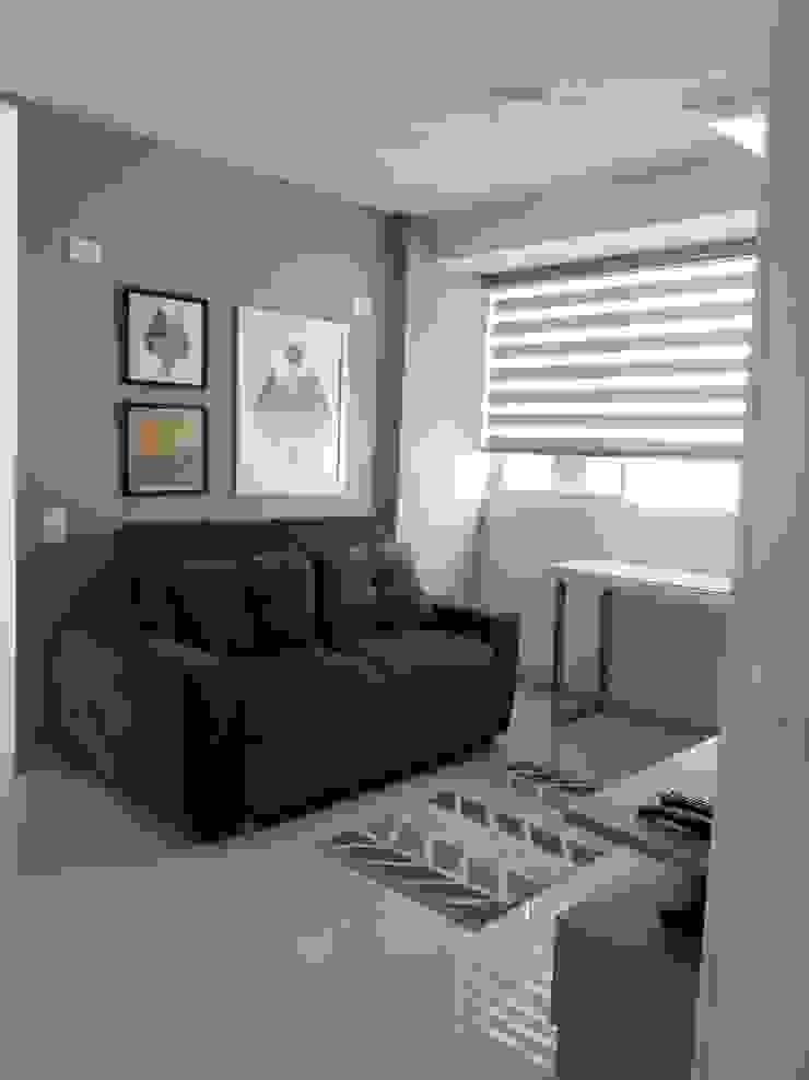 Family room Estudios y despachos de estilo moderno de TICKTO STUDIO Moderno