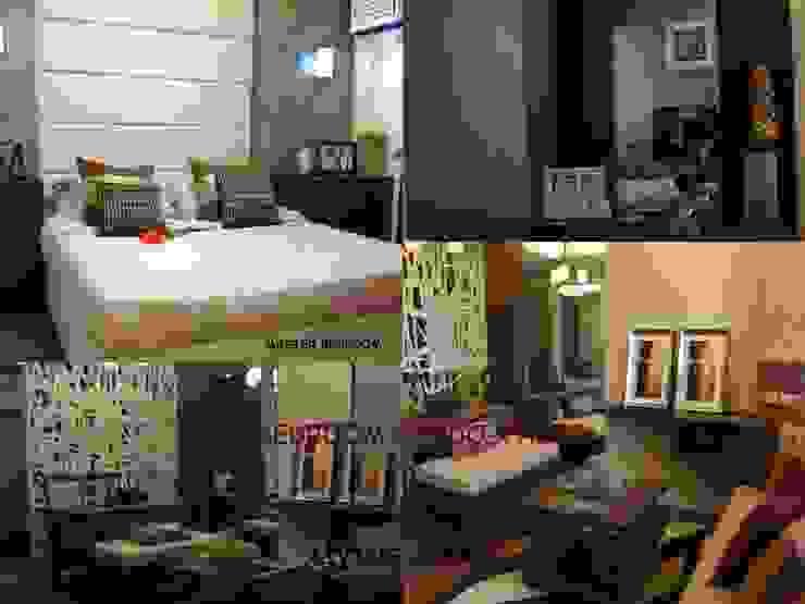 2 Bedroom Condo Unit by Gaille Interior & Decors