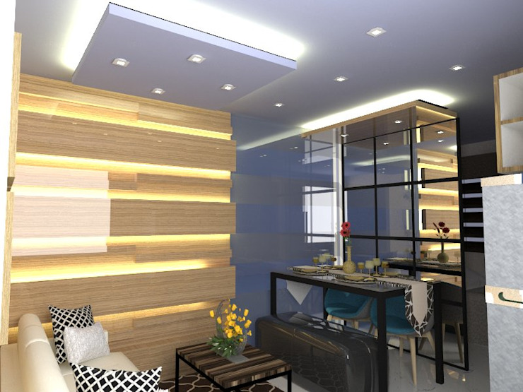 2 Bedroom Model unit by Gaille Interior & Decors