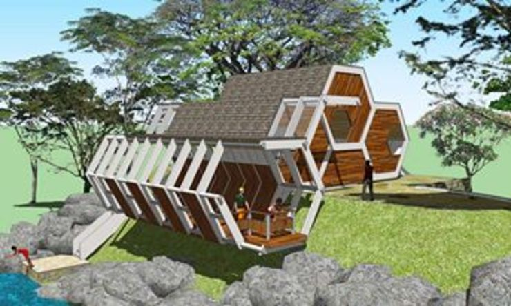 Tagnote View deck by jmSantos Architecture