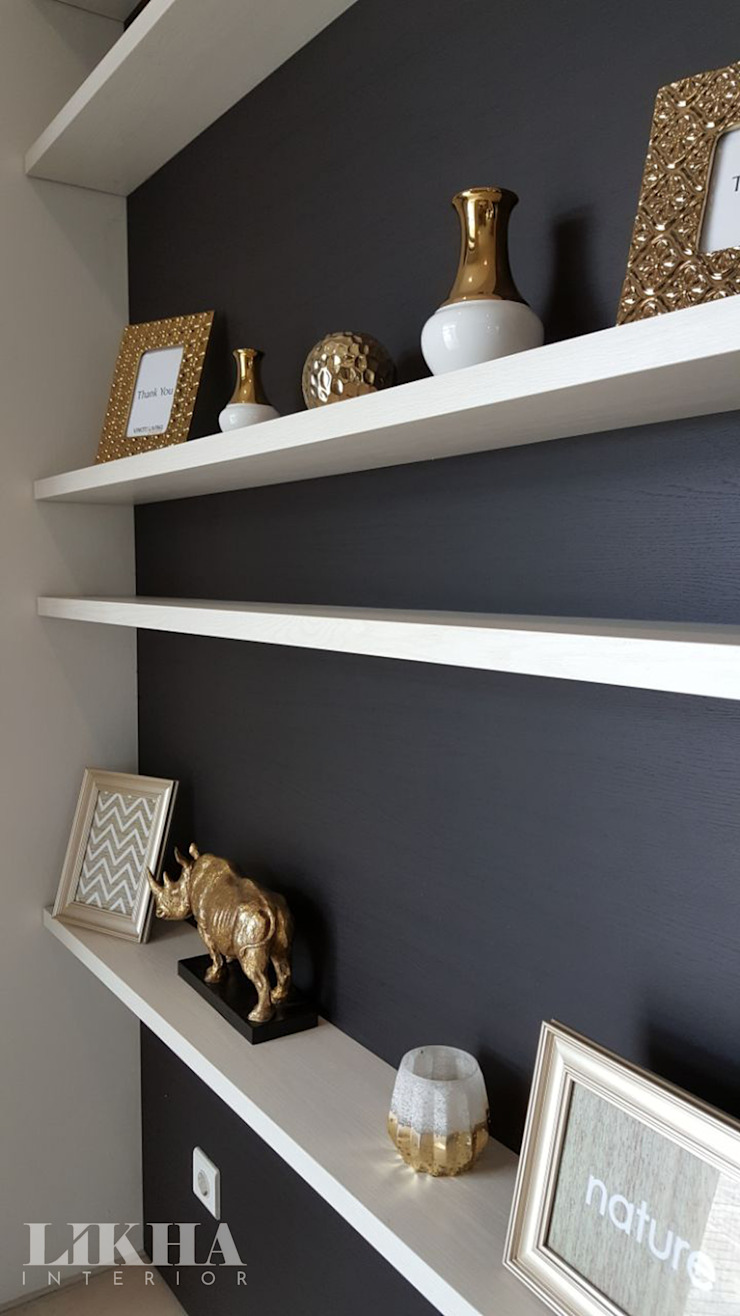 Likha Interior Corridor, hallway & stairs Drawers & shelves Plywood Multicolored