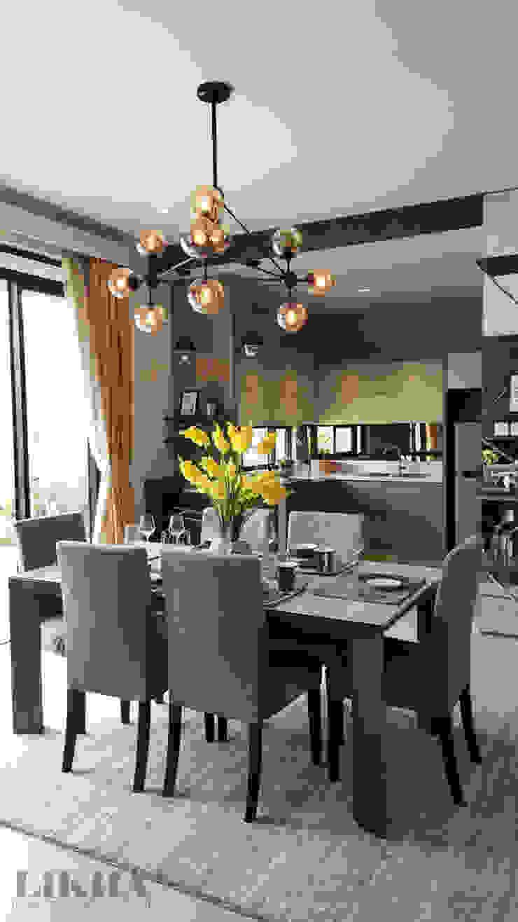 Likha Interior Modern dining room Beige