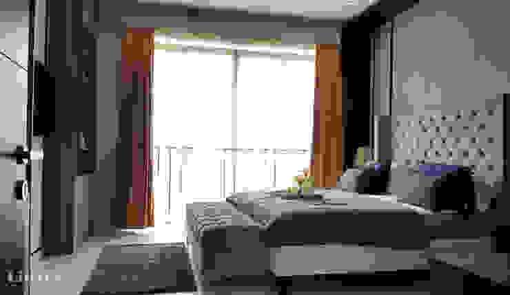 Likha Interior Modern style bedroom Blue