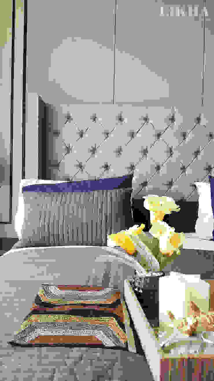 Likha Interior BedroomBeds & headboards Blue