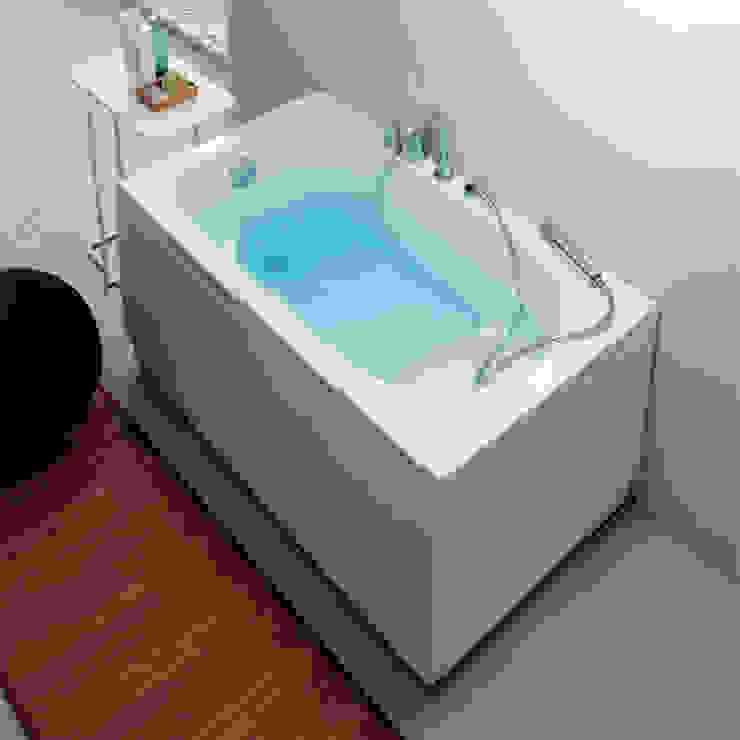 Vasca Da Bagno Piccola Con Sedile.Vasca Da Bagno Moderna Rettangolare Pega 120x70 Homify