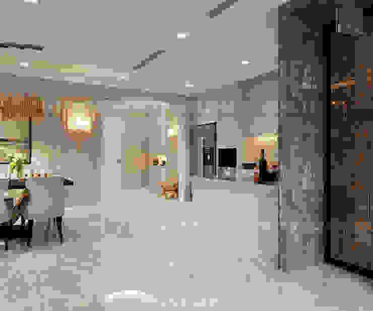 Thiết kế nội thất phong cách Tân Cổ Điển: Nội thất chất lượng – Cuộc sống đẳng cấp Nhà bếp phong cách kinh điển bởi ICON INTERIOR Kinh điển