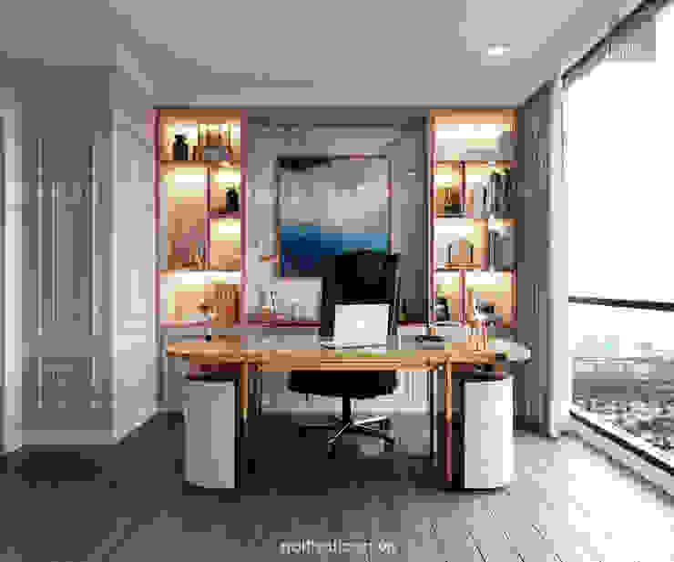 Thiết kế nội thất phong cách Tân Cổ Điển: Nội thất chất lượng – Cuộc sống đẳng cấp Phòng học/văn phòng phong cách kinh điển bởi ICON INTERIOR Kinh điển