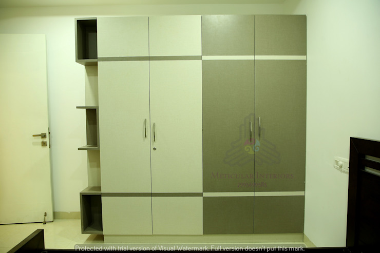 Project 1 Modern dressing room by Meticular Interiors LLP Modern