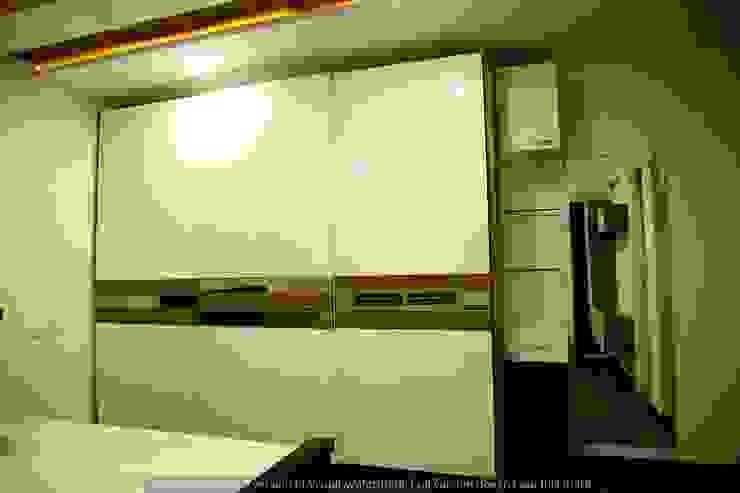 現代廚房設計點子、靈感&圖片 根據 Meticular Interiors LLP 現代風