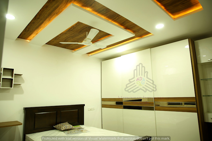 Project 1 Modern style bedroom by Meticular Interiors LLP Modern